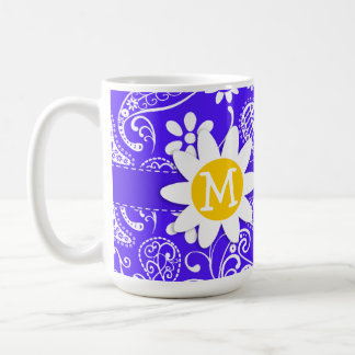 Daisy on Han Purple Paisley Mugs