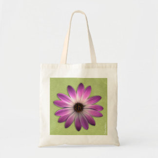 Daisy On Multi Colour Leather Tote Bag