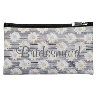Daisy on Weathered Wood Personalizable Bag