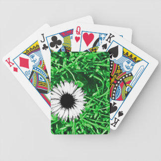 Daisy One Drawn Bicycle Playing Cards