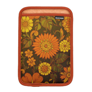 Daisy Orange Design Sleeve For iPad Mini