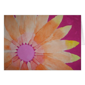 daisy painting Greeting card