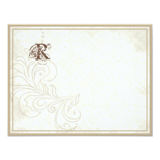 Daisy, Pansy, Rose n Butterfly - Wedding Thank You Card