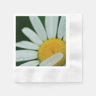 daisy paper napkin