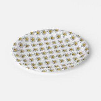 Daisy Paper Plates