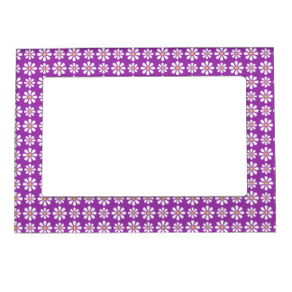 DAISY PATTERN 2 MAGNETIC PHOTO FRAME