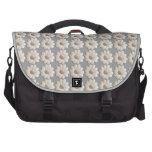 Daisy Pattern Laptop Bag