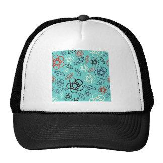 Daisy Pattern Trucker Hat