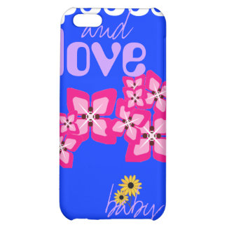 Daisy Peace and Love iPhone 5C Case