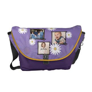 Daisy Photo Frame Messenger Bag