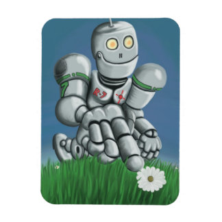 Daisy Picking Robot Magnet