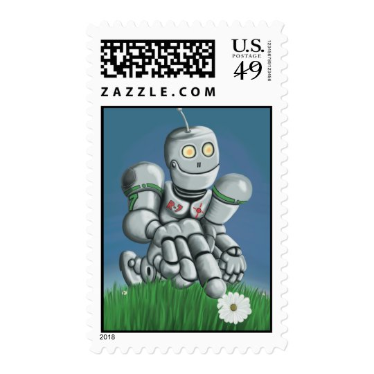 Daisy Picking Robot Postage