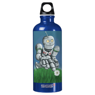 Daisy Picking Robot Water Bottle