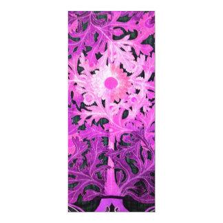 DAISY, pink black white Card