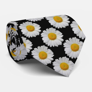 Daisy Polka Dot Close Together Neck Tie