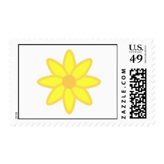 Daisy Postal Stamp-Cost. Stamp
