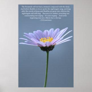 Daisy Power Poster Print