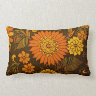 Daisy Print Pillow