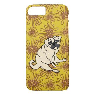 Daisy Pug Phone Cover
