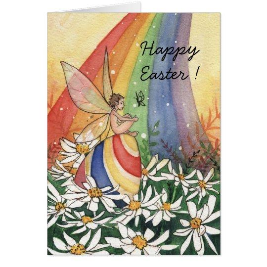 Daisy Rainbow Easter, Card