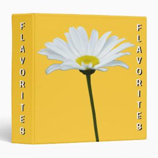 Daisy Recipe Book Flavorites Recipe Book Binder