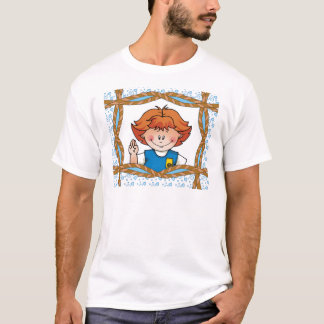 Daisy Red Hair T-Shirt