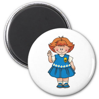 Daisy Redhead Magnet