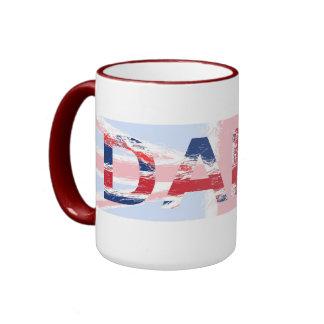 Daisy Ringer Coffee Mug