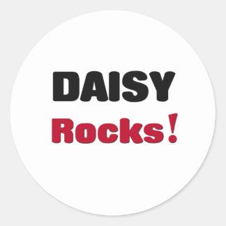 Daisy Rocks Classic Round Sticker