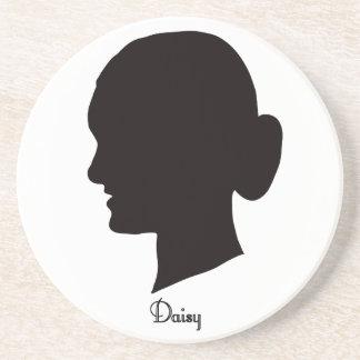 Daisy Sandstone Coaster