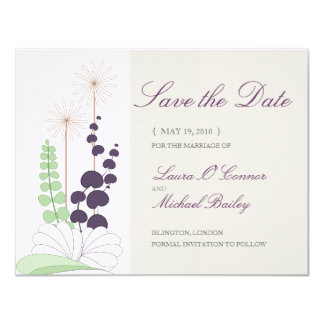 Daisy Save the Date Cards