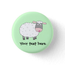 Daisy Sheep Button