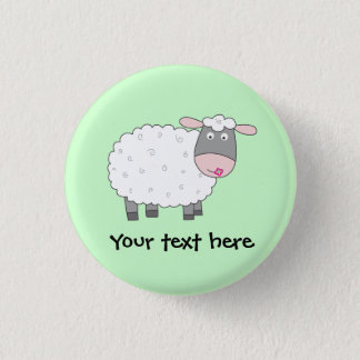 Daisy Sheep Button