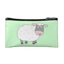 Daisy Sheep Cosmetic Bag