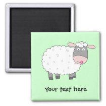 Daisy Sheep Magnet