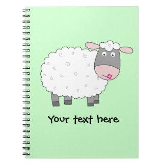 Daisy Sheep Notebook