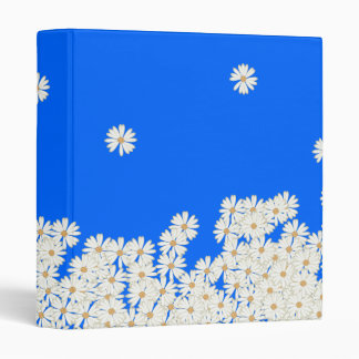 Daisy Shocking Sky Blue (or custom Color!) Binder