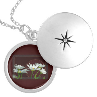 Daisy Silver Plated Necklace