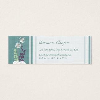 Daisy Skinny Mini Business Card
