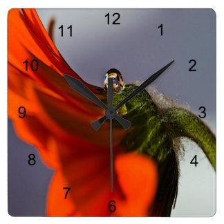 Daisy Square Wall Clock
