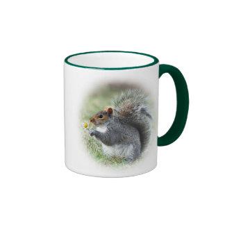 Daisy Squirrel Mug