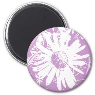 Daisy Stamp Design Magnet