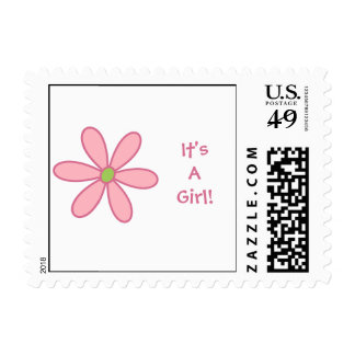 Daisy Stamp (pink)