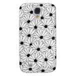 Daisy Storm Pattern iPhone 3G/3GS Case Galaxy S4 Cases