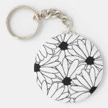 Daisy Storm Pattern Keychain