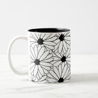 Daisy Storm Pattern Mug