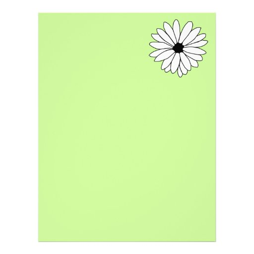 Daisy Storm Recycled Letterhead Paper 2