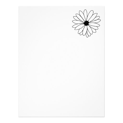 Daisy Storm Recycled Letterhead Paper 8