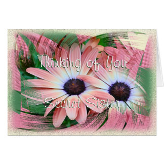 Daisy Swirl-customize any occasion Card