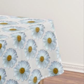 Delightful Daisy Tablecloth White Daisy Flowers Tablecloth